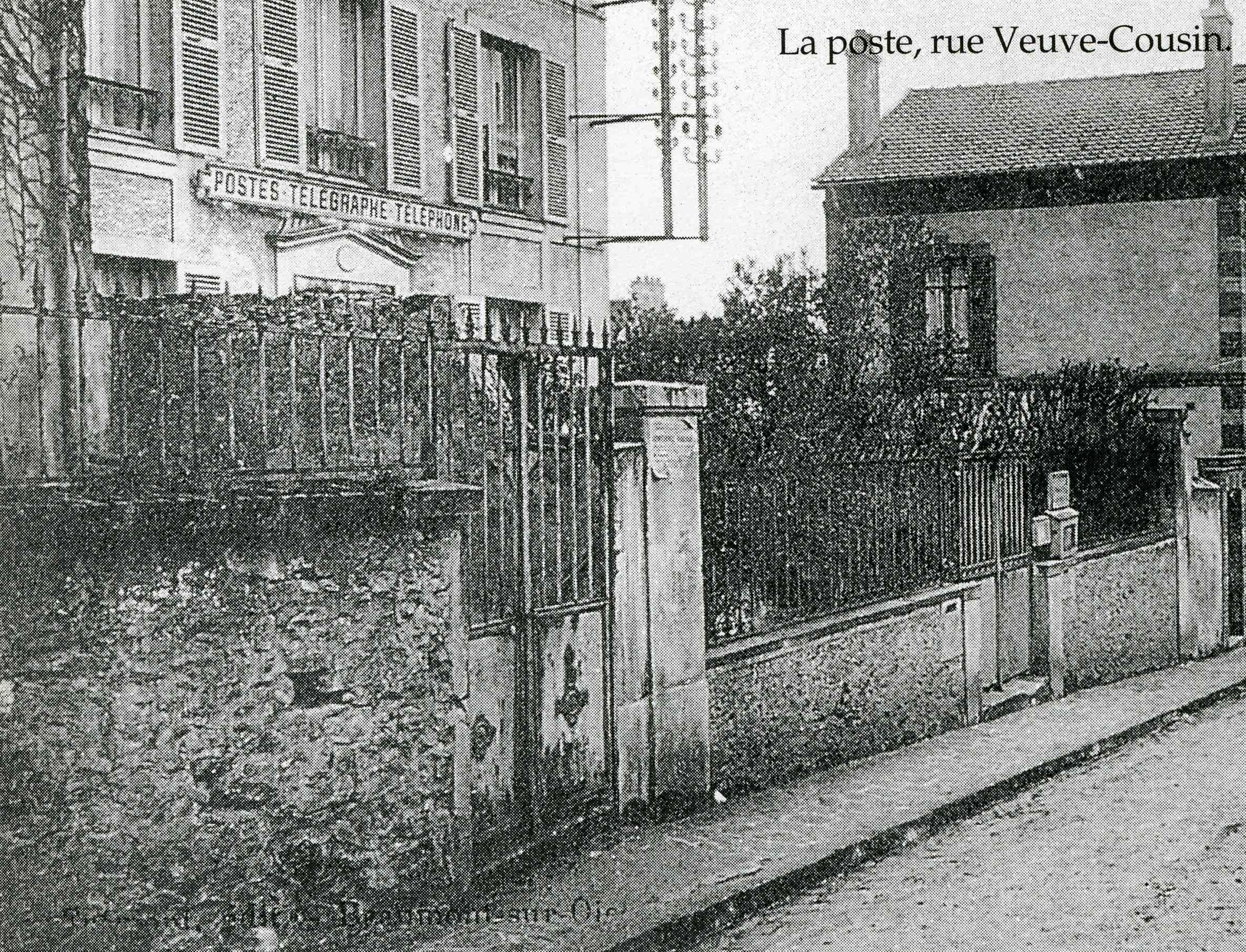 Histoire de la poste de domont for Bureau de poste paris 13 avenue d italie