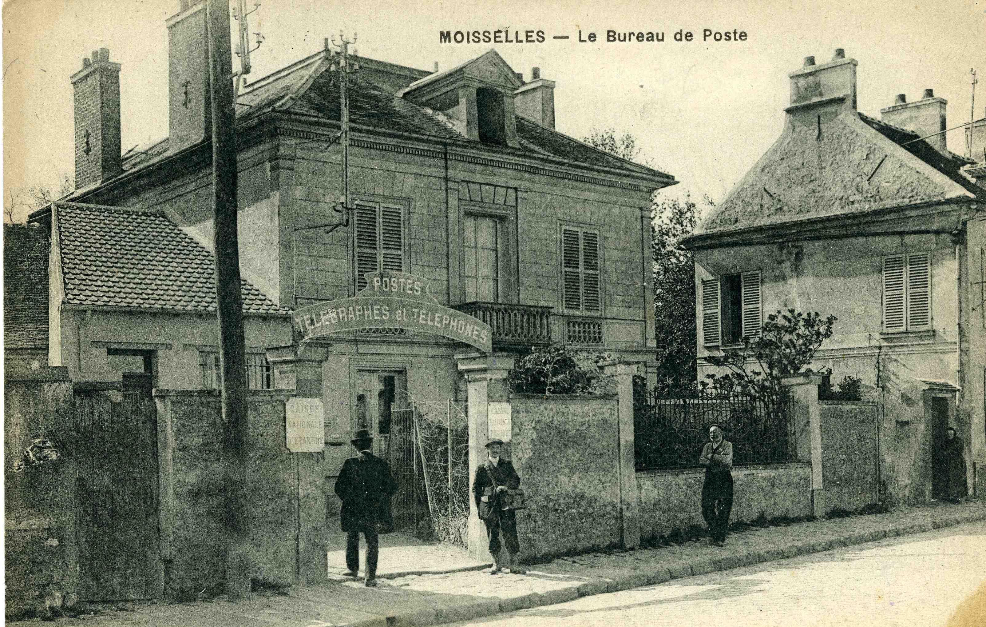 Histoire de la poste de domont - Bureau de poste gare de l est ...
