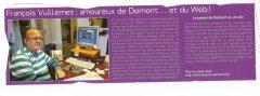 Le Domontois 2010 Site internet Domont et sa région