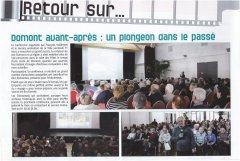 Le Domontois 2016 Conférence du vendredi 11 mars 2016 sur Les quartiers de Domont Avant/Après salle des fêtes de Domont
