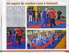 Combat Russe GYMNASE JEAN JAURES