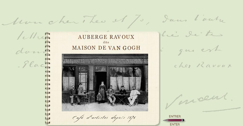 Officiels for Auberge ravoux maison van gogh
