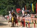l-entrainement d-un chevalier et sa monture