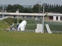 Préparation du feu d'artifice de Domont 2013 stade des Fauvettes