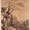 Eglise de]Montmorency dessin