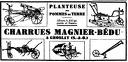1933 charrues magnier bedu