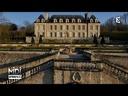 VUE D'EN HAUT : Le château d'Auvers-sur-Oise