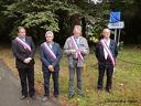 "Inauguration "" Grande allée du Duc de Massa """